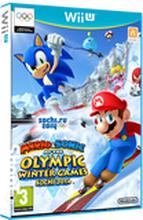 Mario & Sonic aux Jeux Olympiques d'Hiver de Sotchi 2014 sur Wii U