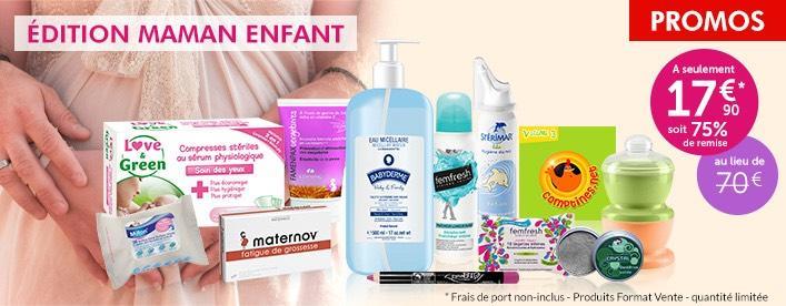 Trousse pour maman et bébé : 12 produits