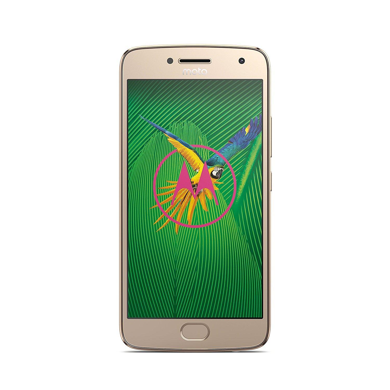 "Smartphone 5.2"" Lenovo Motorola Moto G5 Plus - Full HD, Snapdragon 625, RAM 3Go, 32Go, Or"