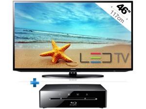 Téléviseur LED Samsung UE46EH5000 - 46'' -  Full HD + Lecteur Blu-ray Samsung BD-ES5000