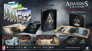 Assassin's Creed IV: Black Flag - Edition Collector Skull [WiiU]