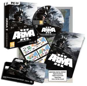 Arma 3 Limited Deluxe Edition PC [Import Anglais]