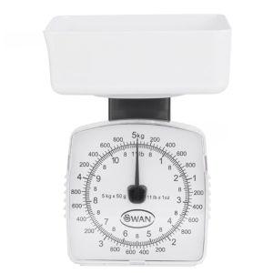 Balance de cuisine  pèse jusqu'à  5kg
