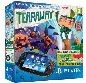 Console Sony PS Vita 3G/Wifi + Little Big Planet + Tearaway + Carte mémoire 16 Go
