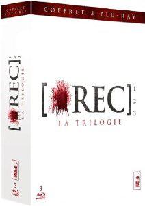Coffret Blu-Ray Trilogie Rec