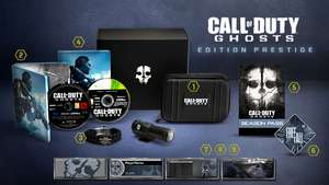 Call of Duty : Ghosts Edition Prestige + Season pass PS3 ou Xbox 360