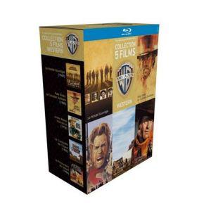 Coffrets Blu-ray 90 ans Warner 5 films (Action, Western ou Guerre)