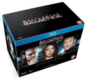 Intégrale Battlestar Galactica - Coffret Blu-Ray