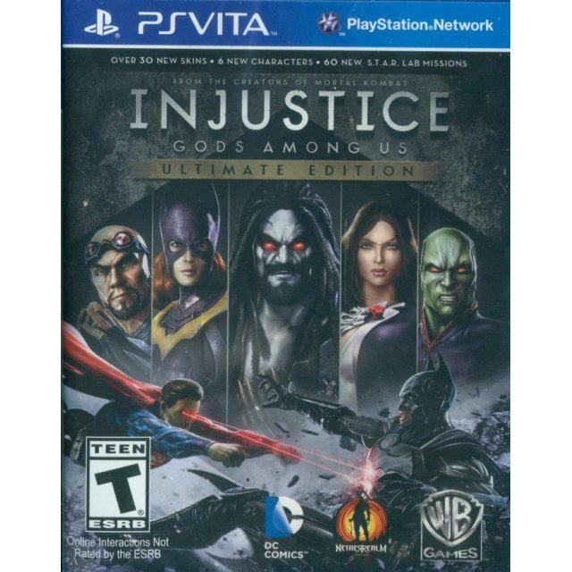 Injustice Edition Jeu de l'Année et Lego Marvel Super Heroes sur PS Vita, l'unité