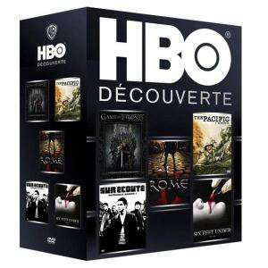 Coffret DVD HBO Découverte (Saison 1 : Game of Thrones + The Soprano + Rome + Sur écoute + Six Feet Under)