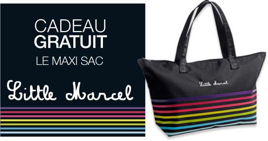 -20€ pour 40€ d'achats + un sac Little Marcel en cadeau