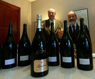 Champagne Lanson Gold Label millésimé 2002