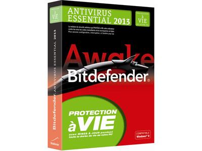 Bitdefender Antivirus Essential 2013 (1 poste/Protection à vie)