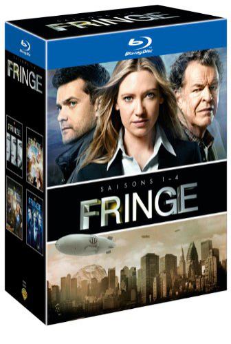 Fringe - Saisons 1 à 4 en Blu-ray