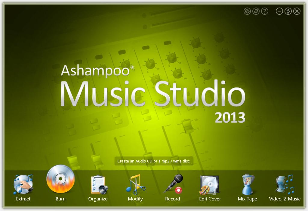 Ashampoo Music Studio 2013 Gratuit