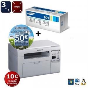 Imprimante A4 Laser Multifonction 3 en 1 Samsung SCX-3400 + Toner !