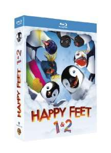 Coffret Blu-ray Happy Feet + Happy Feet 2