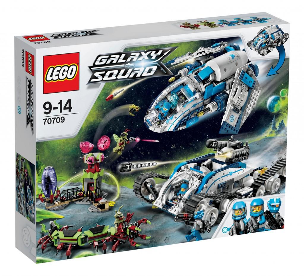 3 sets Lego à prix correct, ex : Lego Galaxy Squad 70709 à 55.09€, Lego Galaxy Squad 70705