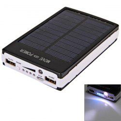 Batterie Double USB (Avec chargeur solaire d'appoint)