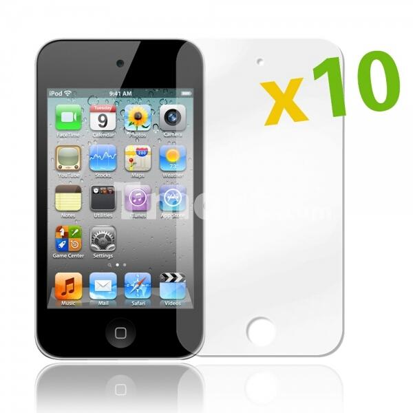 10 films de protection d'écran pour iPod Touch 4