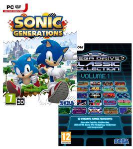 Déstockage: Sonic Generations et Sega Mega Drive Classic Collection: Volume 1 PC (et sélection de jeux PC à petit prix)