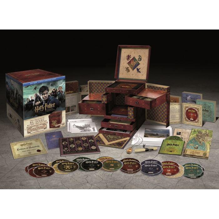 Harry Potter Coffret Ultime - Edition limitée et numérotée - Harry Potter 1 à 7 Partie B + Goodies (13 DVD + 18 Blu-ray)