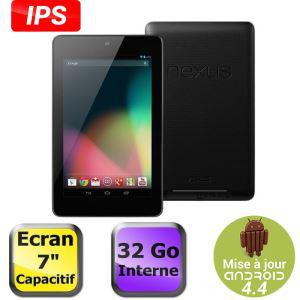"Tablette tactile 7"" Google Nexus 7 32Go (2012)"