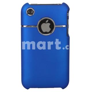 Coque Iphone 3G/3GS bleu métal