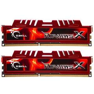 Barrettes de RAM G.Skill Ripjaws X Series - 8Go (2x4Go) PC14900 1866Mh