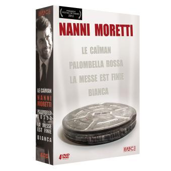Coffret DVD 4 Films : Nanni Moretti - Le Caïman + Palombella rossa + La messe est finie + Bianca