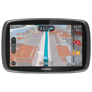 "GPS 6"" TomTom GO 6000, Europe 45 pays, Cartographie + Trafic à vie"