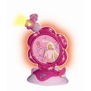 Réveil avec projecteur Barbie Lexibook