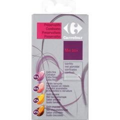 12x Préservatifs lubrifiés (Plusieurs sortes) avec réservoir (0.29€ pièce)