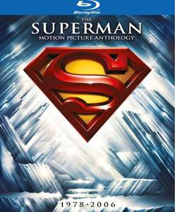 Coffret Blu-ray Superman Motion Picture Anthology 1978-2006