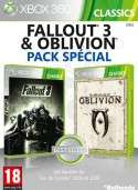 Pack The Elder Scrolls IV : Oblivion + Fallout 3 - Xbox 360
