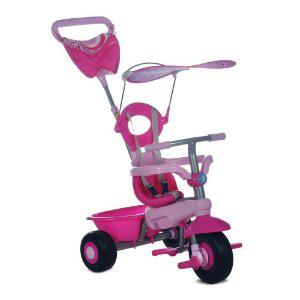 Smart Trike Fresh Ride-On Tricycle 3 -en-1 pour enfant - Rose