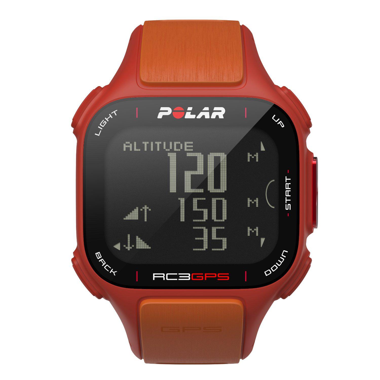 Montre Polar RC3 GPS avec altimètre - Orange