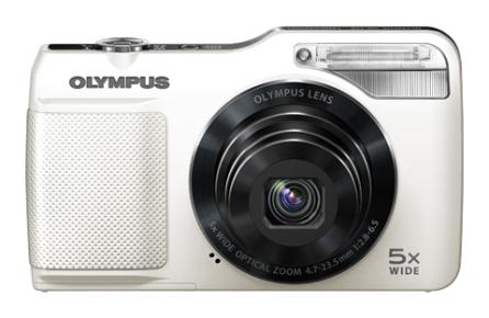 Appareil photo Olympus VG-170 Blanc ou rouge