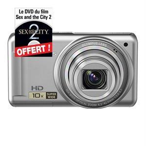 Appareil photo OLYMPUS D720 gris ou noir + le DVD de sex and the city 2 offert