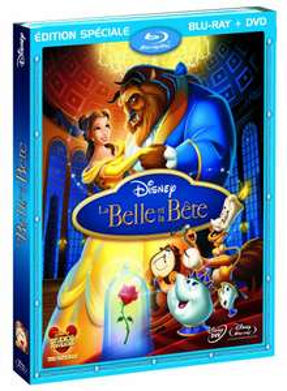 Coffret Blu-ray + DVD La belle et la bête (et autres)