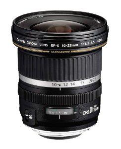 Canon EF-S Objectif à  Zoom 10 / 22 mm f/3.5-4.5 USM (Avec ODR de 100€)