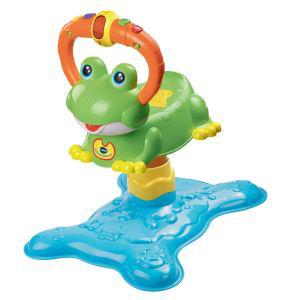 Ninon, la grenouille à rebond