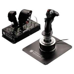 Ensemble Joystick PC + Manette des gaz Thrustmaster Hotas Warthog