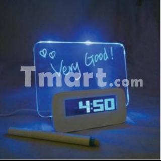 Alarme avec tableau fluorescent et 4 ports USB