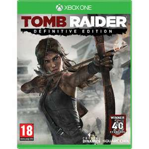 Tomb Raider Definitive Edition Xbox One et PS4
