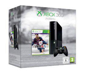 Console XBOX 360 250Go (Nouveau design) + FIFA 14