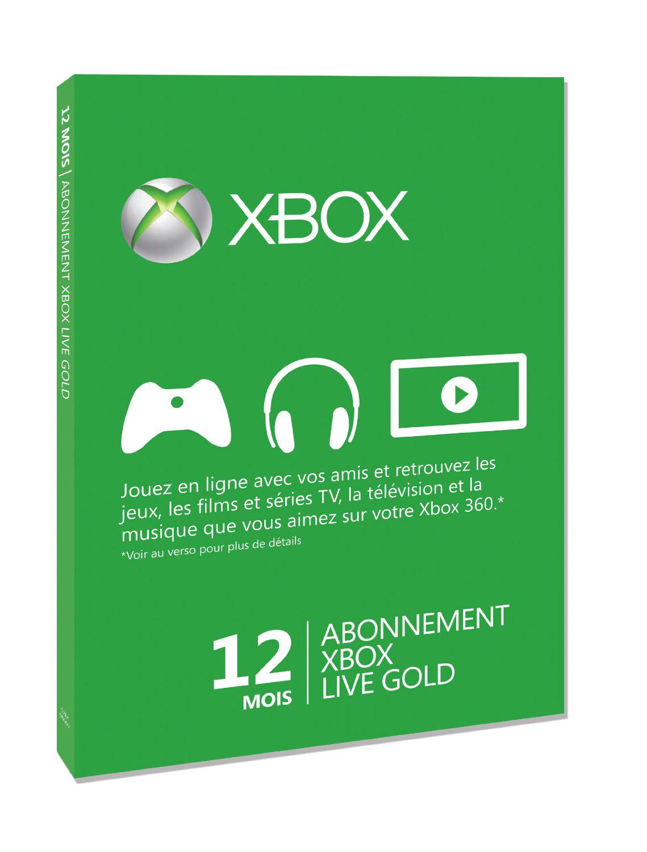 Carte Abonnement Xbox Live Gold 12 mois + Film à regarder gratuitement sur Xbox Vidéo