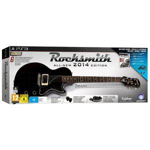 Pack Rocksmith 2014 avec guitare sur PS3