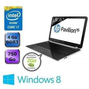 """HP Pavilion 15-n072sf Core i7 brillant/15.6"""" HD BrightView WLED (50€ ODR)"""