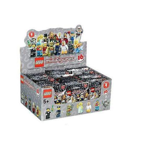 Pack 60 minifigurines LEGO série 9